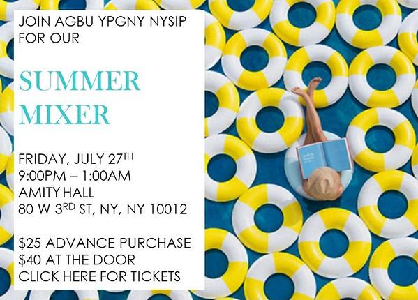 NYSIP Summer Mixer 2018
