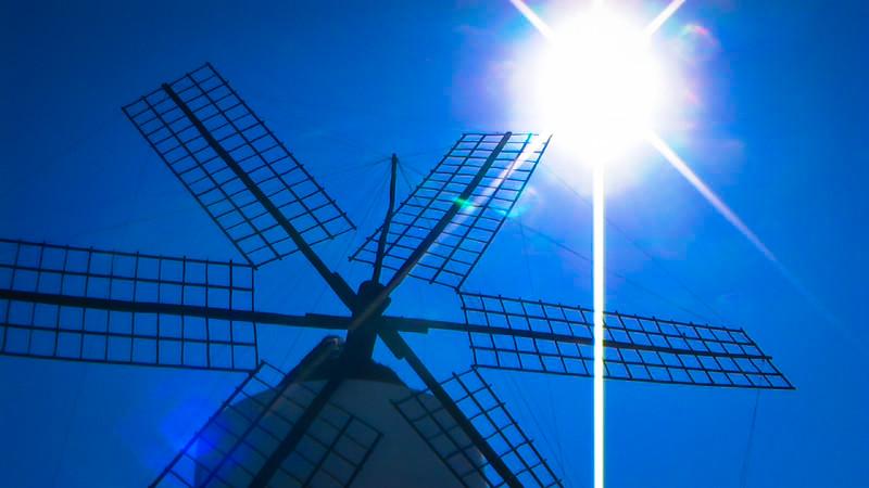 Mystery Windmill