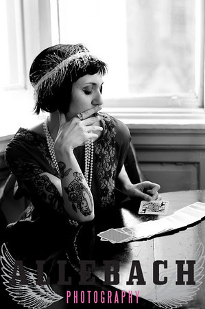 1920s Tattooed Flappers