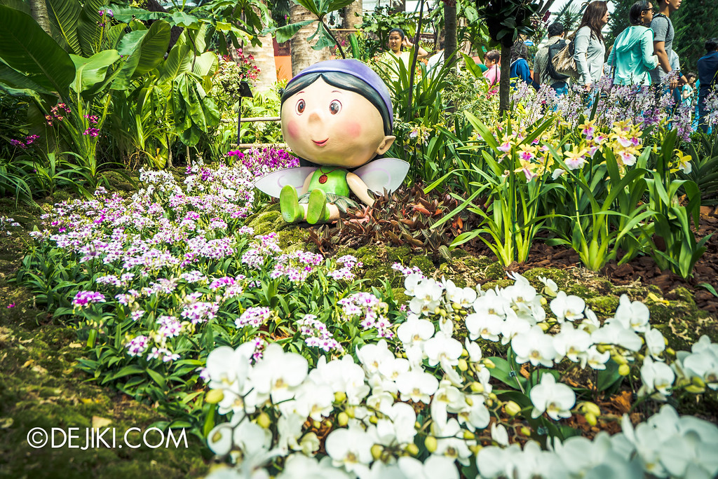 Gardens by the Bay - Orchid Extravaganza 2016 - Orchidian in white