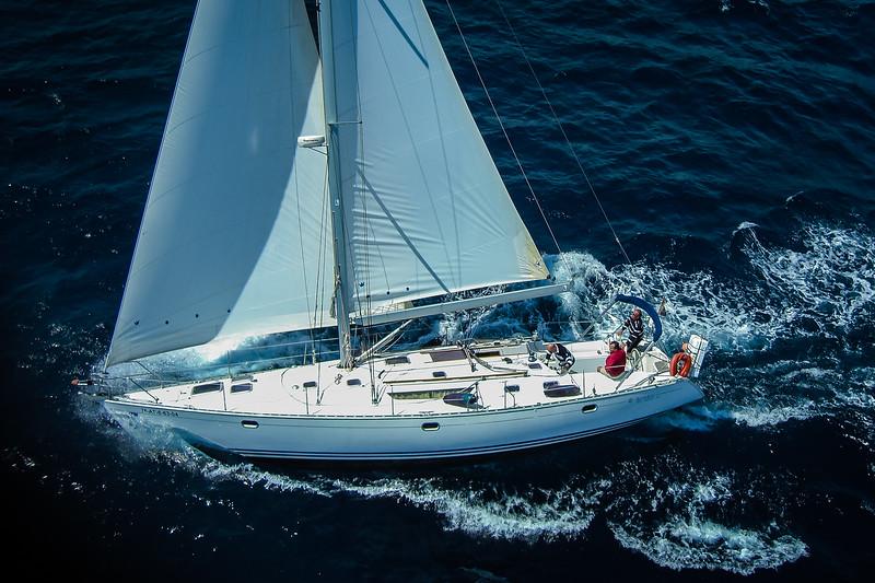 An original way to take Nautical Aerial Photography