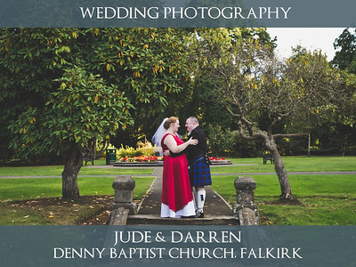 Jude & Darren - Falkirk - Wedding Photography