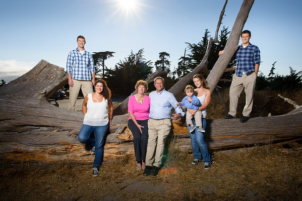 The Davies (Family Photography) @ Lighthouse Field & Dog Beach