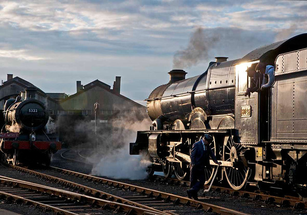 Great Western Steam on Shed