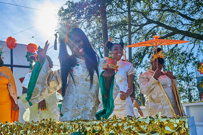 Nine Times Social Aid and Pleasure Club Second Line - 2018