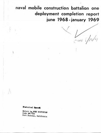 NMCB-1 1968-1969