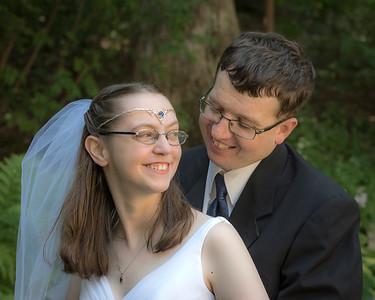 Stephanie and Aaron Aug 2015