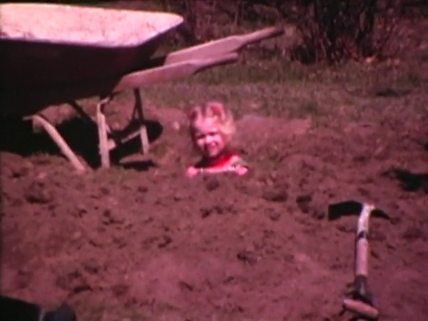 Fall 1980 in Rhodes Island.  Timothee, age 7, and his sister, Sara, age 4.   Super-8 Home Movie filmed by their Father. (There is no sound in these videos.)