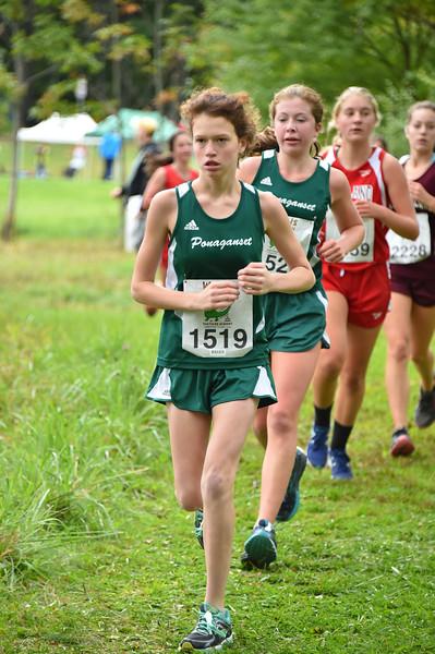 Girls 5 Woods Trail Run 2016-10-01