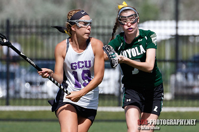 US Lacrosse Women's Collegiate Lacrosse Associates (WCLA): Loyola vs Grand Canyon