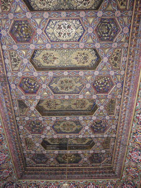 042_Kokand, Khan Palace, XIX Century. The Throne Room Ceiling.jpg