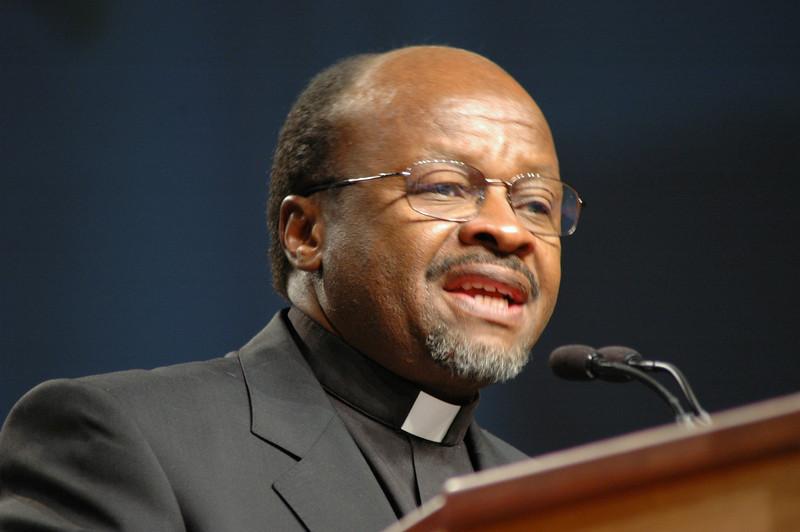 Dr. Noko, secretary of the Lutheran World Federation