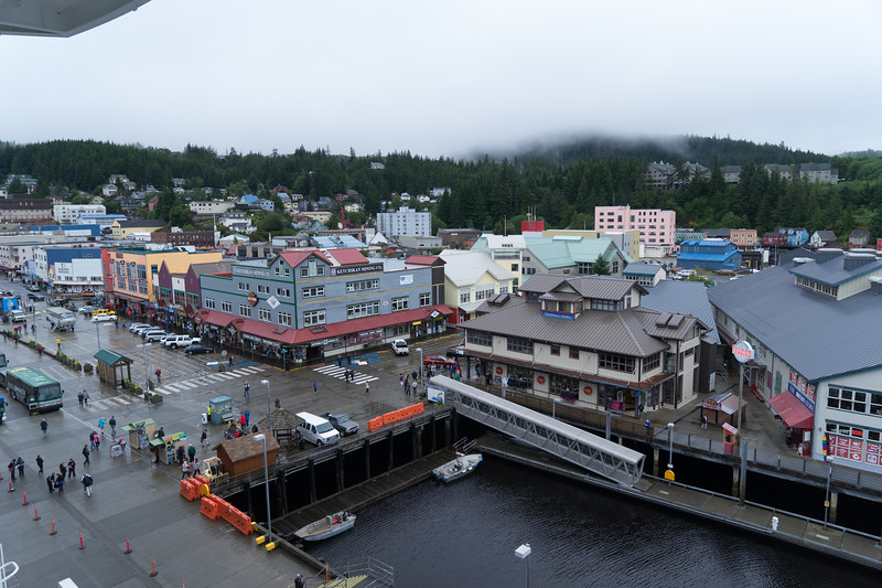 Gritty downtown Ketchikan
