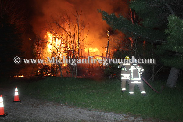 5/17/20 - Leslie house fire, 3780 S. Meridian