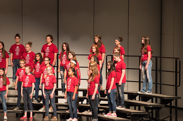 Halle's Choir Concert (May 11. 2014)