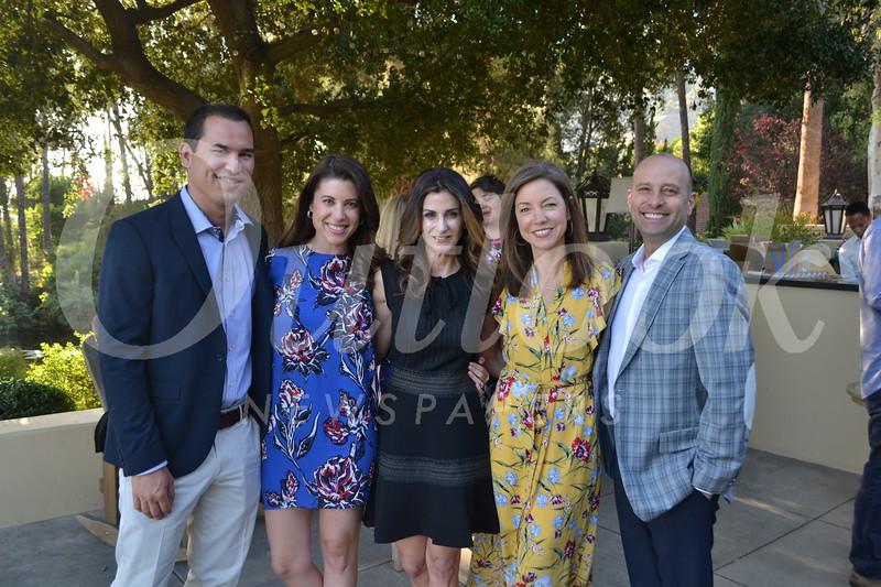 Ryan and Heather Rivera, Tasia Filippatos and Sarah and Carl Weinstein.JPG