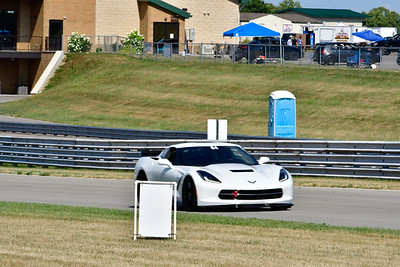 2020 SCCA July 29 Pitt Race Interm White Vette