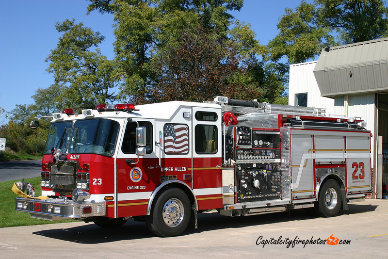 Upper Allen Engine 2-23: 2008 E-One Cyclone II 2000/1000