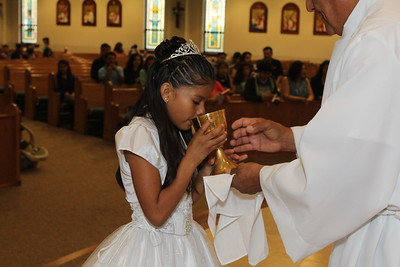 First Holy Communion May 10, 2015 12:30 p.m. Mass