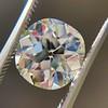 3.56ct Antique Cushion Cut Diamond 41