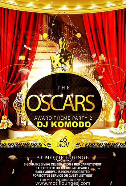 11/26 [The Oscars@Motif]