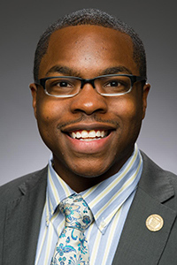 Juawn Jackson as Student Government Association President