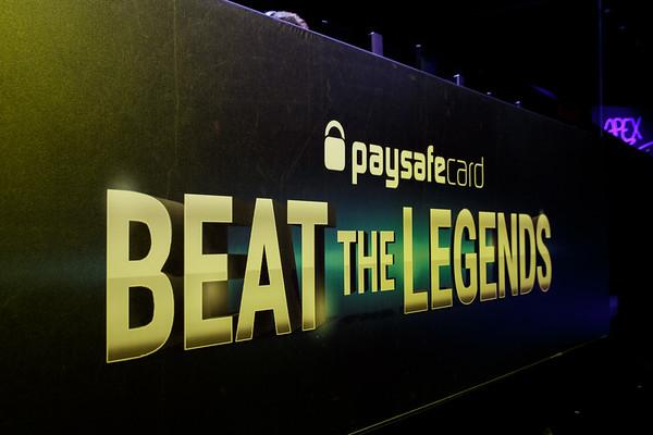 paysafecard Beat the Legends Vol. III