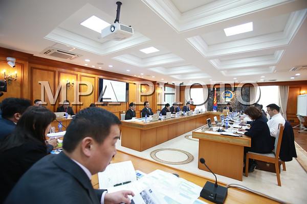 Засгийн газрын хуралдаан