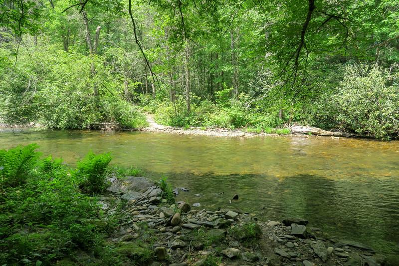 Riverside Trail @ South Fork Crossing #2 -- 2,350'