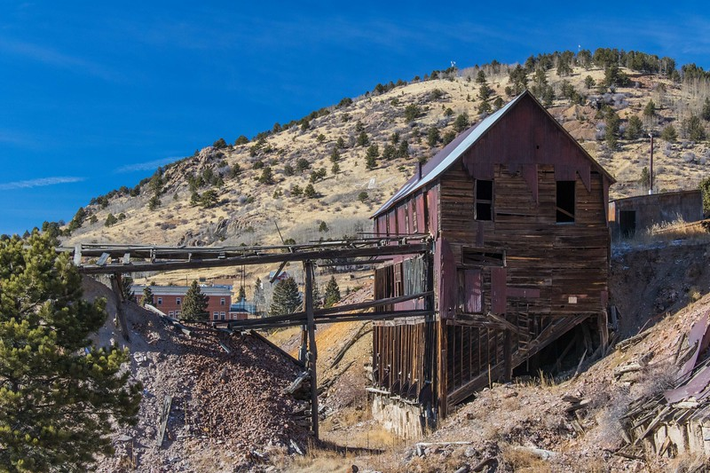 The Strong Mine in Victor, Colorado