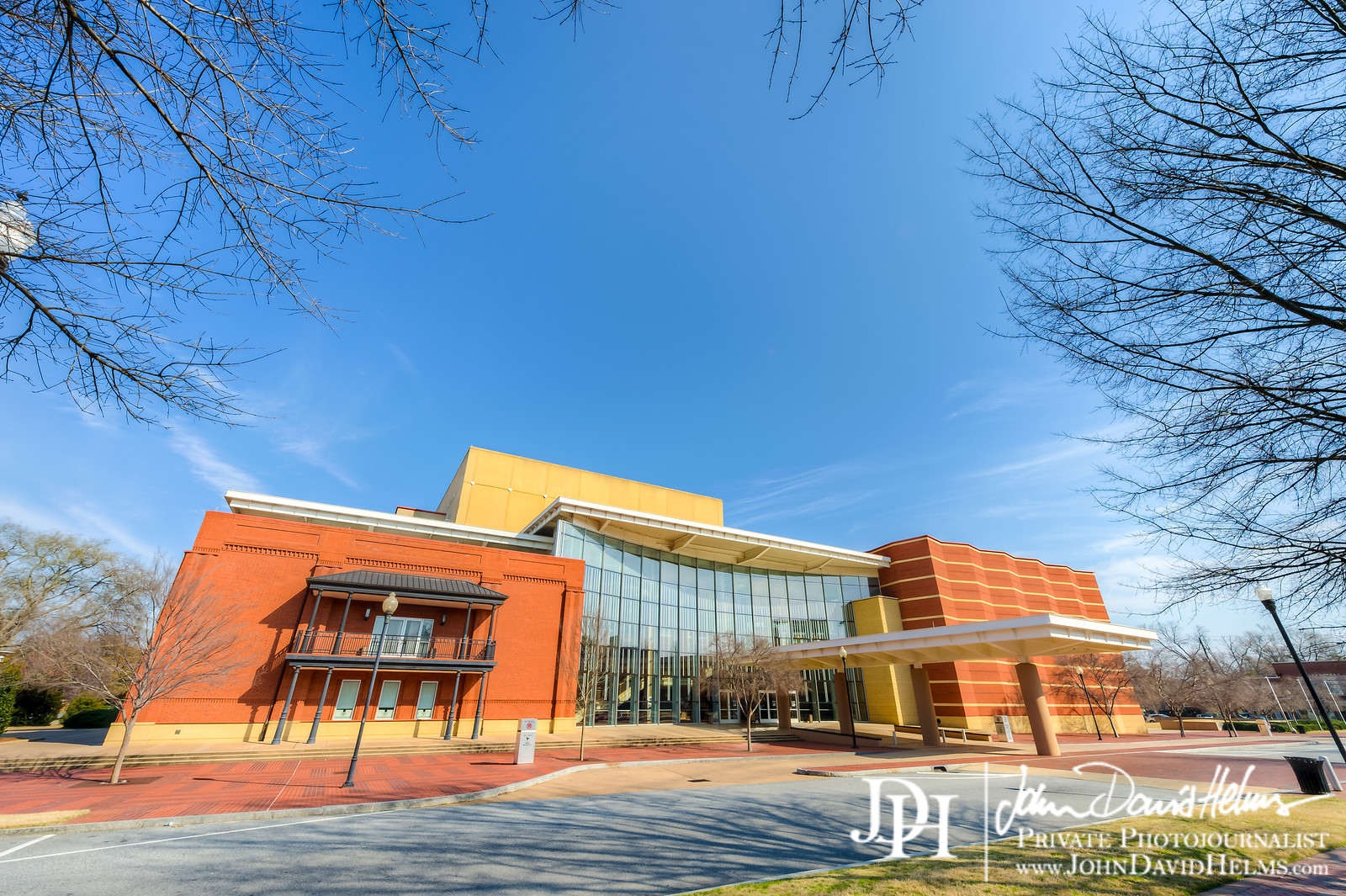 """Columbus State University River Center for the Performing Arts building, one block from the Marriott Columbus, GA, March 2013, photo by John David Helms  <a href=""""http://www.JohnDavidHelms.com"""">http://www.JohnDavidHelms.com</a>"""
