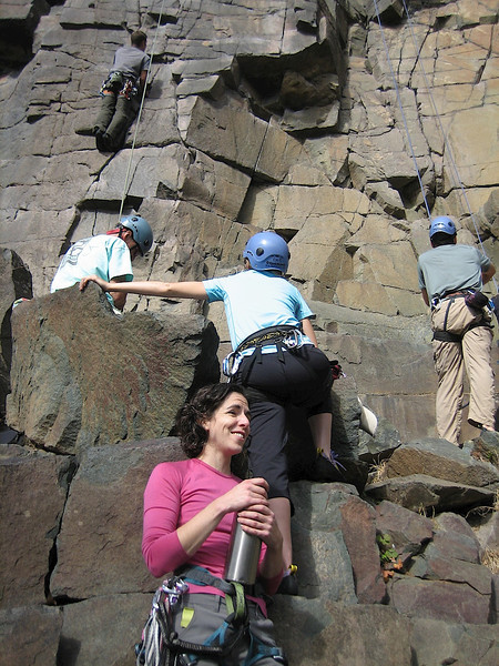 Betsy was a organizer and leader of this climb. Thanks Betsy for such a fun experience!