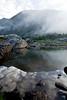 Reflection at dawn, Sawatch Range, CO