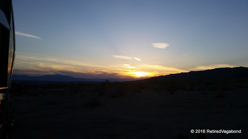 Overnight at Joshua Tree BLM