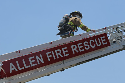 Allen TX. Residential Structure fire. Clearview Dr. 6/24/18