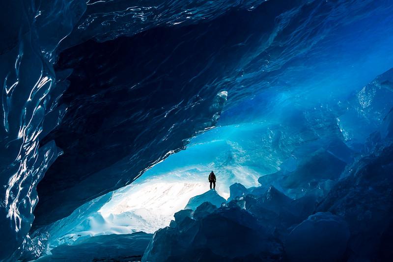 Big Bend Glacier Alberta January 2021