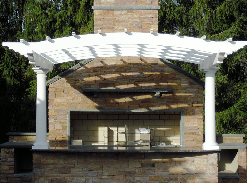 888 - 374113 - Norwood NJ - Fireplace Pergola