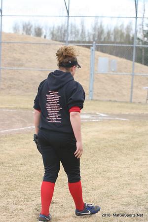 Houston vs Kodiak Lady Hawk Softball  10 May 2018  #2