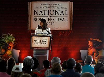 Natasha Trethewey at National Book Festival 2010