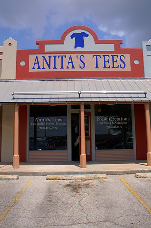 West San Antonio Chamber Ribbon Cutting:  Anita's Tees
