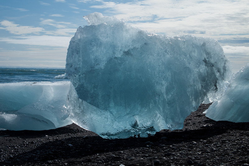 a giant ice cube