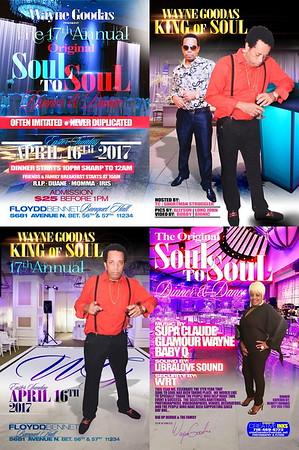 "WAYNE GOODAS present the annual ""SOUL TO SOUL 2017""(15)"