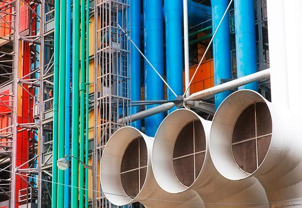 Centre Pompidou - Beaubourg