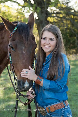 Jaycie Alford Horses session
