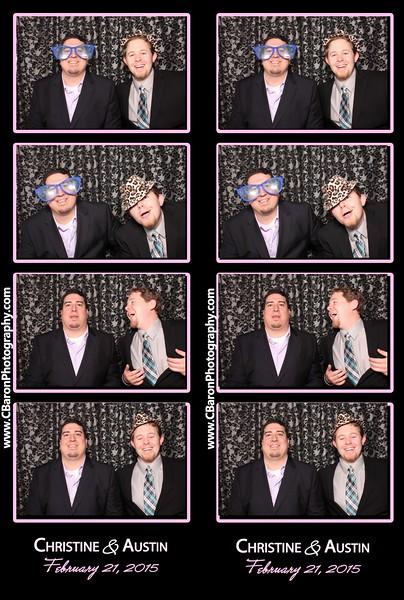 Christine + Austin Swanky Photobooth