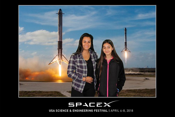 Green Screen Photos - 4.07.2018 - 4.08.2018 - SpaceX - USA Science & Engineering Festival