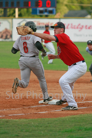 Twins vs Greeneville 8-20-12