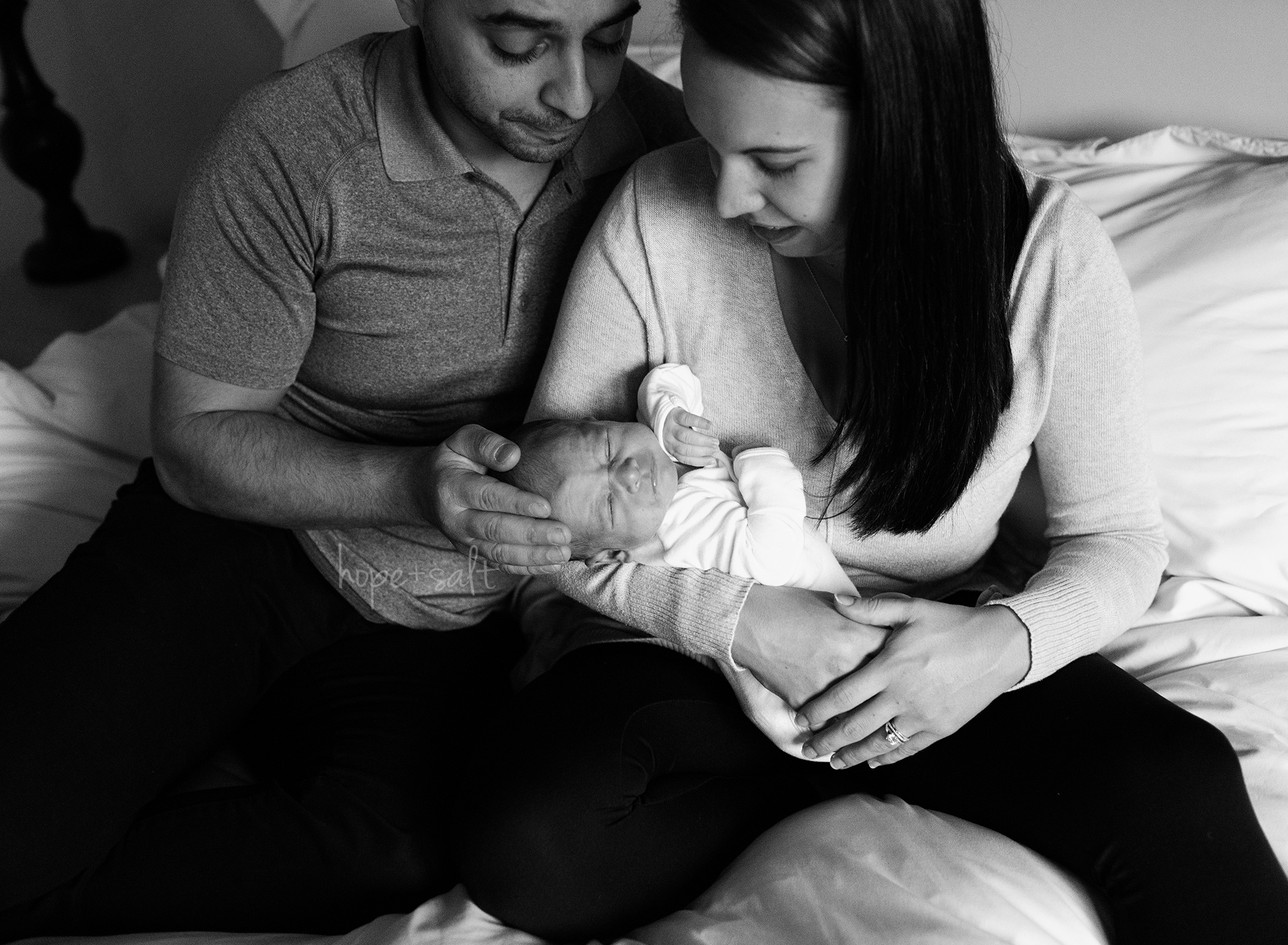 in home lifestyle newborn session for baby boy N 2020 by burlington ontario photographer