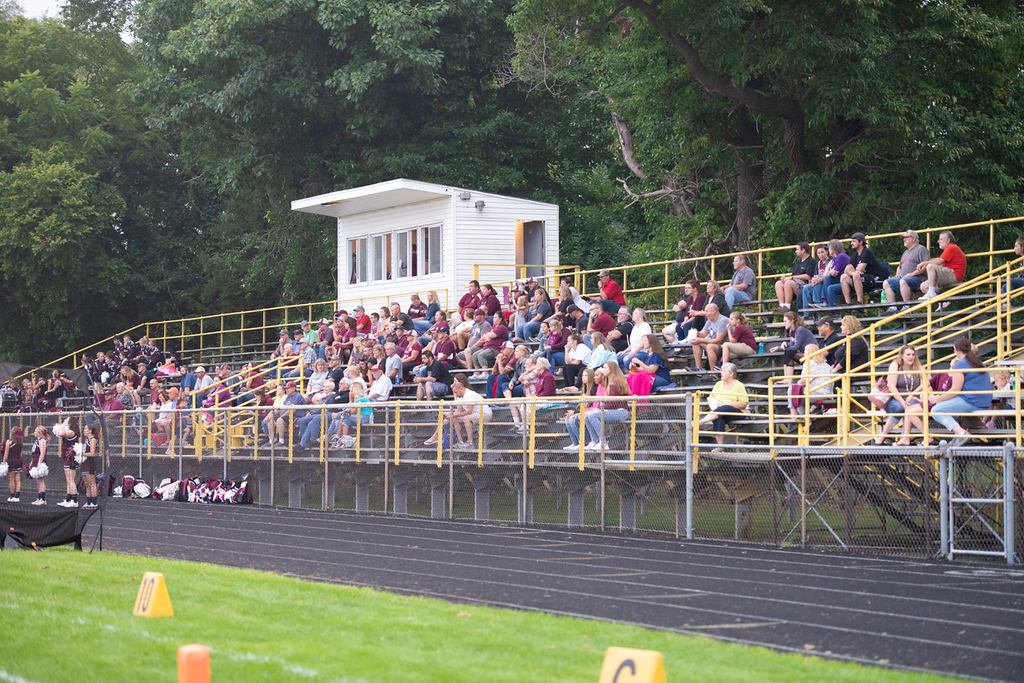 . Aimee Bielozer - The Morning Journal<br> Scenes from the Clearview vs. Wellington game on Sept. 14.