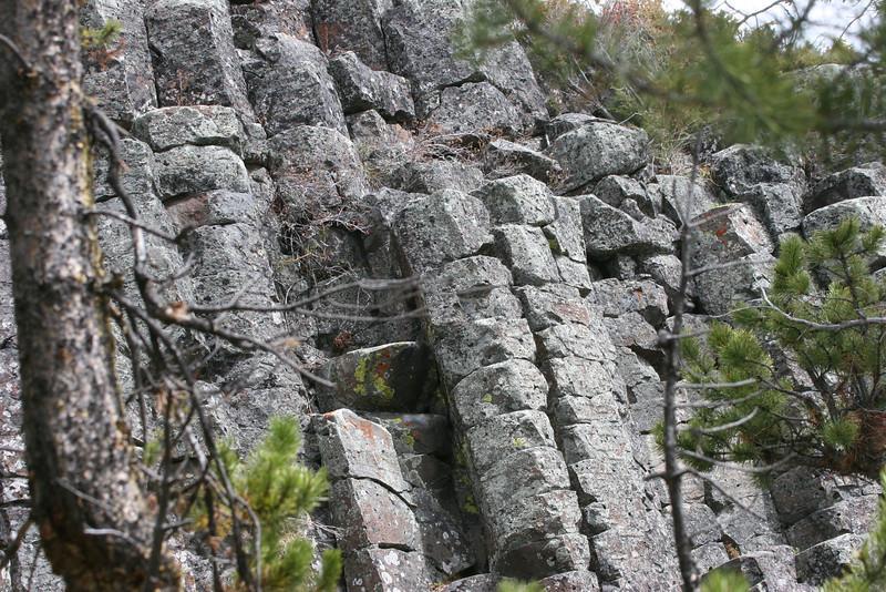 caldera wall